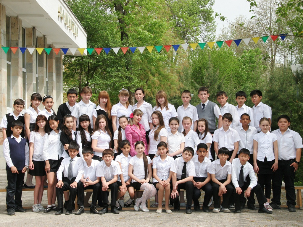 """Коллективная фотография 6 """"Б"""" класса (19 апреля 2011 года)"""
