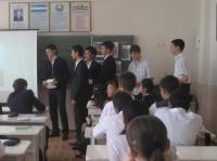 """Рассказ об известных писателях Узбекистана (8 """"А"""" класс)"""