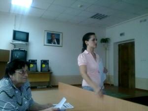 Анна Васильевна Руссу, организатор КВН