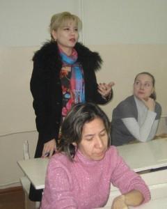 Администрация школы на уроке
