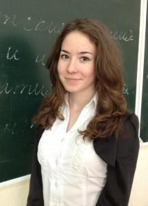 """Карина Хескет, ученица 9 """"Б"""" класса"""