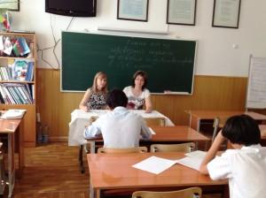 """3 июня. Экзамен по предмету """"ОГП"""" в 8 """"Б"""" классе"""