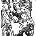 Ахурамазда борется с Ахриманом