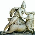 Бог Митра, убивающий быка