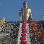 Золотой Будда. Китай.