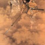 Идзанаги и Идзанами (Япония )Идзанами и Идзанаги. Картина художника Кобаяси Эйтаку конца XIX века.
