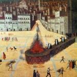 Казнь Савонаролы на Площади Синьории