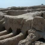 Развалины древней крепости