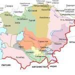 Среднеазиатские владения России в начале XX века