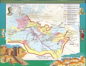 Рост Римского государства в III-I вв. до н.э.