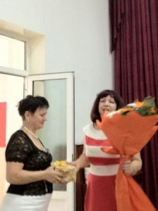 Лариса Михайловна - учитель экономики