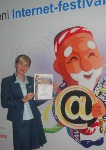 Мой сайт - лауреат интернет-фестиваля домена .UZ (2012)