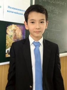 Мухамадиев Исломбек - староста класса