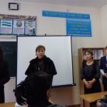Анализ урока учителей школы №142. Слева направо: Гетта Михайловна, Инна Владимировна, Мушарраф Мирумаровна, Джамиля Ибрагимовна.