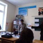 Представление учителей - специалистов школа 142. Справа налево: Гетта Михайловна, Хасан Марифович, Мансур Иброхимович.