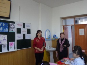 Гульчехра Азизовна и Светлана Александровна