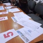 Каждому члену жюри я подготовила разработку конкурса, баллы и таблицу для фиксирования оценок командам. Было очень удобно оценивать команды.
