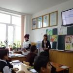 Ольга Владимировна Мячина и Татьяна Владимировна Хасьянц справа налево