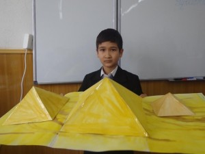 """Абдульфайз Турапов (5 """"А"""") Пирамиды. Египет"""