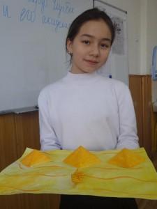 """Азиза Исламова (5 """"Д""""). Пирамиды, Египет"""