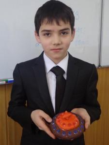 """Бабур Набераев (5 """"Б"""") Шапка Мономаха"""