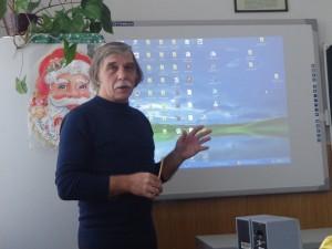 Владимир Иванович Репьёв - учитель математики