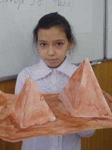 """Дильбар Джураева (5 """"В"""") Пирамиды. Египет"""