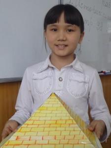 "Ирода Бекмурадова (5 ""Г"") Пирамида. Египет"