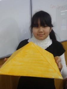 """Камила Ходжиматова (5 """"В"""") Пирамида. Египет"""