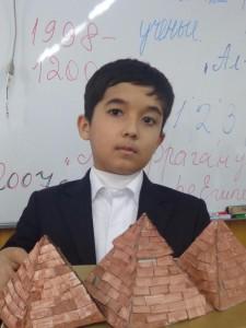 Камолиддин Ильясов (5 Б) Пирамиды, Египет