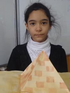 """Лола Ахмедова (5 """"В"""") Пирамида. Египет"""