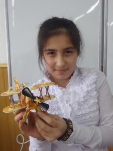 "Манзура Икромова (5 ""Г"") Изобретение воздушного транспорта"