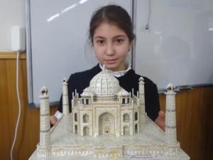 """Мафтуна Юлдашева (5 """"В"""") Тадж Махал. Индия"""