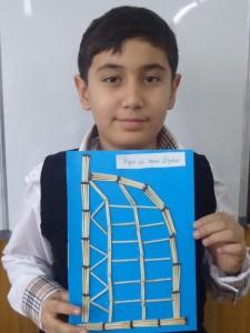 """Отабек Нариманов (5 """"В"""") Бурч ал Араб. Дубаи"""