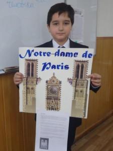 """Сэм Хидоятов (5 """"А"""") Нотр дам де Пари. Париж"""