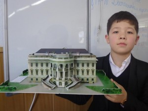"Фазилбек Шарифбаев (5 ""Г""). The White House"