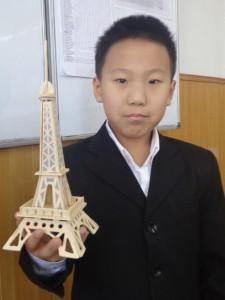 """Чонг Менг Джин (5 """"Д"""") Эйфелева башня, Франция"""