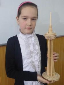 "Эльвира Абдурахманова (5 ""А"") Menara Kuala Lumpur"
