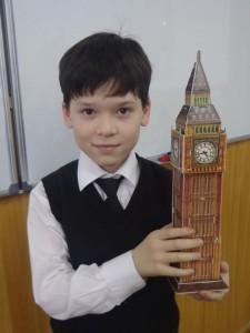 """Эмиль Алимухамедов (5 """"Г"""") бывший Big Ben. С 2012 года Башня Елизаветы"""