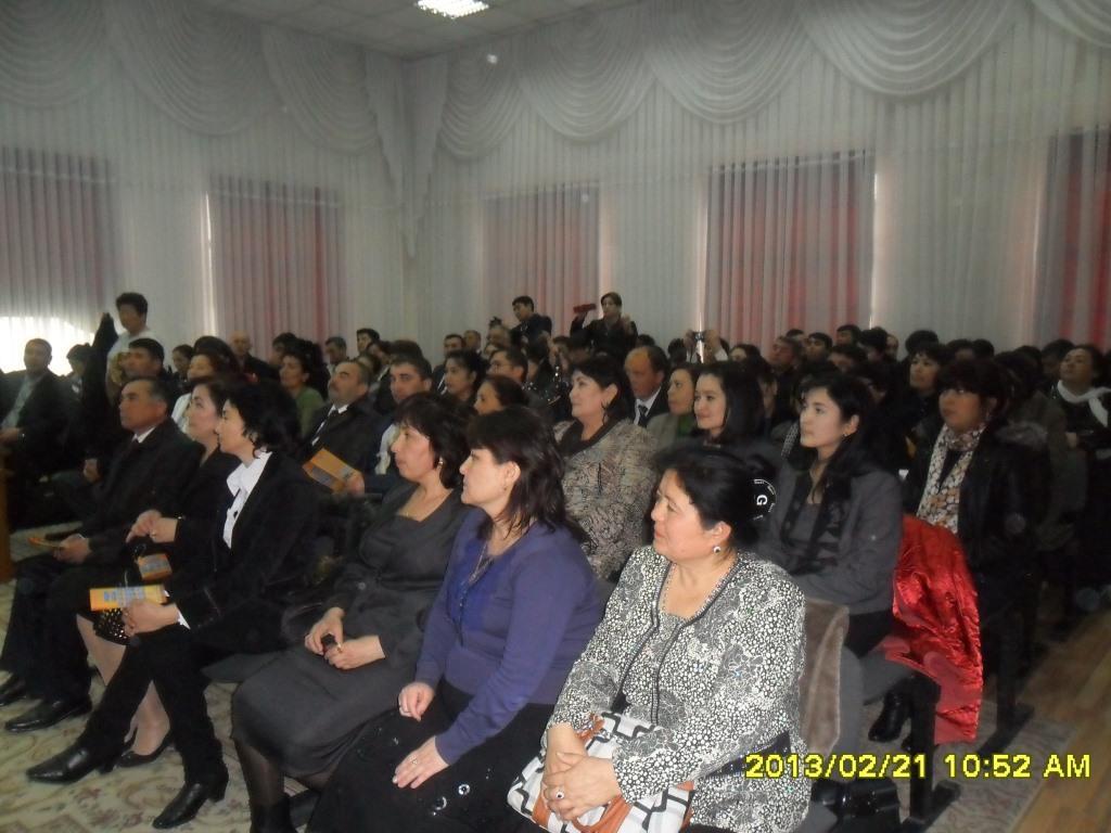 Представители образования Республики Узбекистан