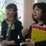 В.И.Ломухина - Директор школы №50 и О.В.Мячина - учитель истории