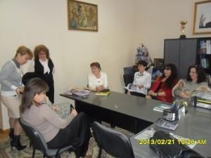 Администрация школы №50. Подготовка к встрече с гостями