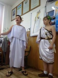 Олег Даминов и Данил Горбунов - ораторы