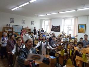 """Исполнение песни """"Мой Ташкент"""""""