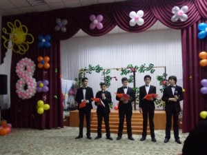 Настоящие джентльмены (сборная 9-х классов)