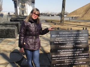 Мемориал памяти жертв Голодоморов в Украине