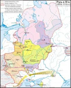 Русь в XI веке