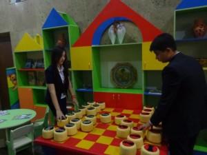 "Ситора и Бабур (9 ""В"") Игра в шахматы"