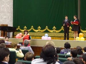 Поздравления директора школы №50 Валентины Ивановны Ломухиной