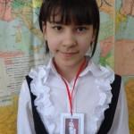 "Фатима Джалалова (5 ""А"") - Медаль ""Клио"""